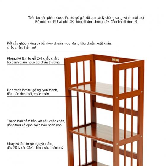 Kệ sách 5 tầng HB540 - IBIE