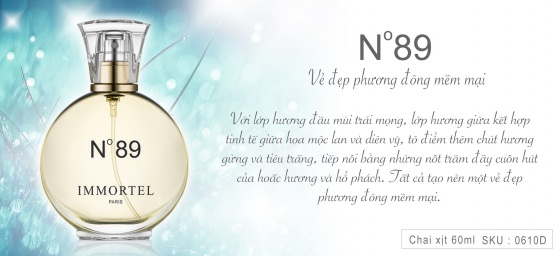 Nước hoa Immortel No89 60ml EDP