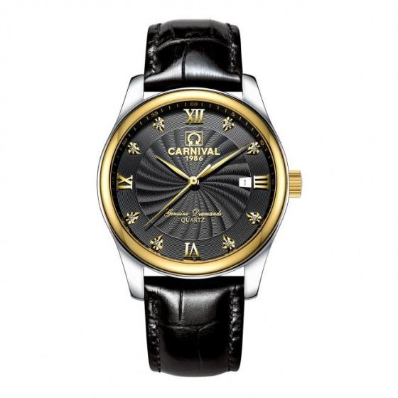 Đồng hồ nam dây da Carnival G18301.202.632