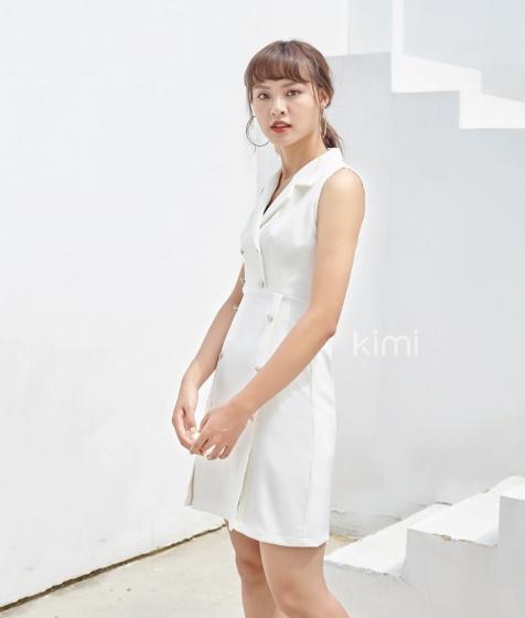 Đầm ôm bâu danton - AD180145