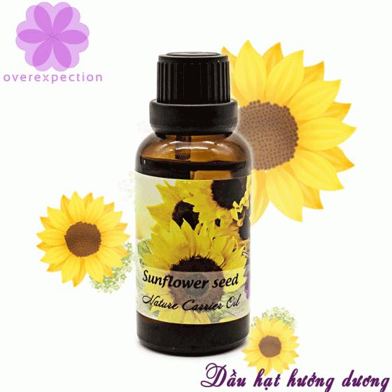 Dầu nền hạt hướng dương - Sunflower seed carrier oil