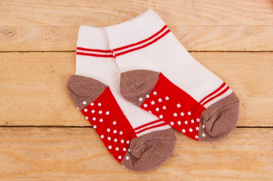 Combo 5 đôi vớ in chống trượt cao cấp cho bé trai size M