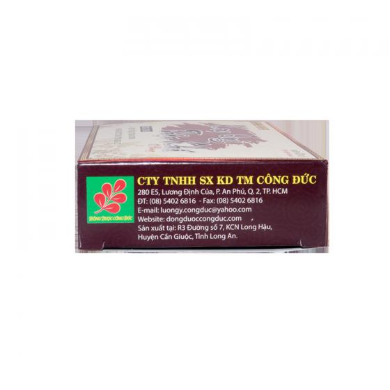 Combo 3 hộp trà bổ thân + 3 hộp viên uống Kim quy thận khí công đức - Giúp bổ thận, tăng cường chức năng thận, trị tiểu đêm, tiểu nhiều lần.