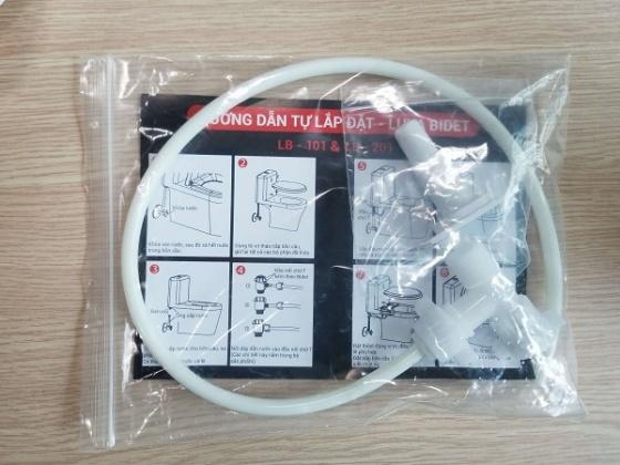 Vòi rửa vệ sinh thông minh Luva Bidet LB201