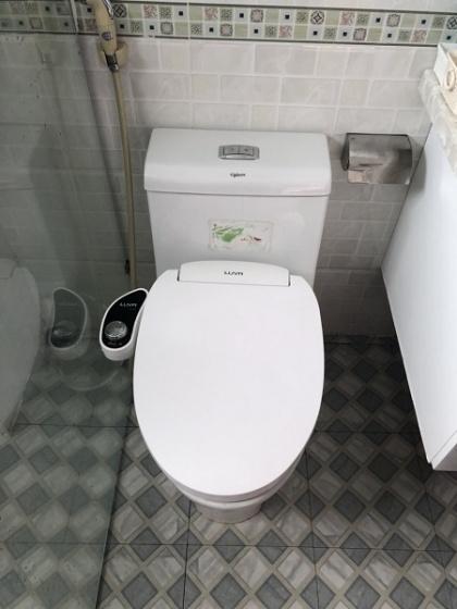 Nắp bồn cầu tự rửa thông minh Luva Bidet LB203