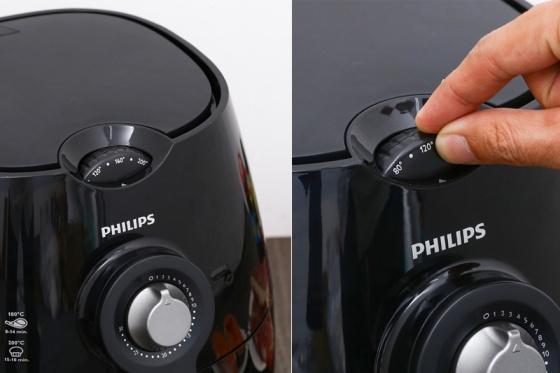 Nồi chiên không dầu Philips HD9220 (Đen) - hãng phân phối chính thức