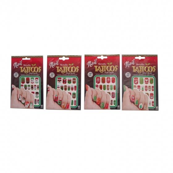 Bộ hình Noel dán móng tay 2 tờ/bộ_XA9953-Giao ngẫu nhiên