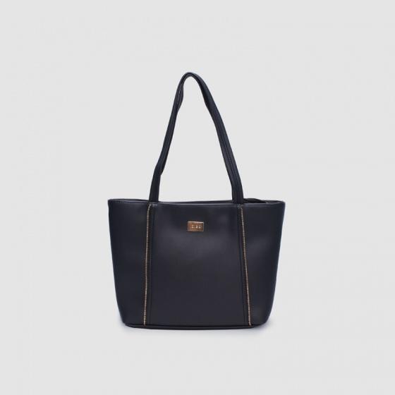 Túi đeo vai nữ viền dây kéo Idigo FB2-510-00