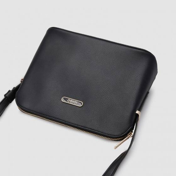 Túi hộp đeo chéo nữ dáng sò Idigo FB2-357-00