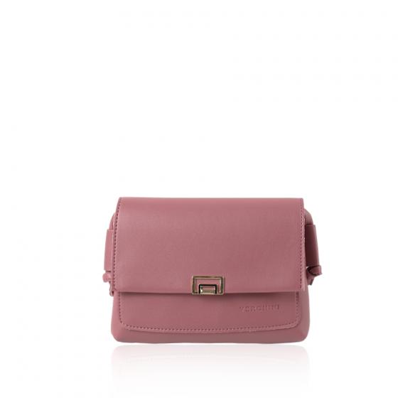 Túi thời trang Verchini màu hồng ruốc 02004047