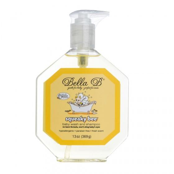 Sữa tắm gội organic cho bé Bella B