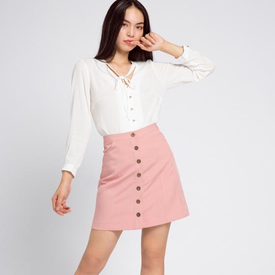 Váy ngắn miniskirt Hity SKI027 (hồng anh đào sakura)