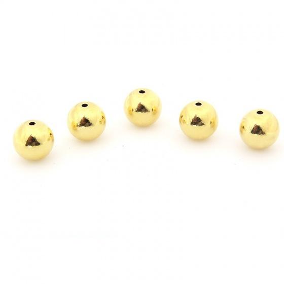 Combo 5 hạt charm bạc mã vàng