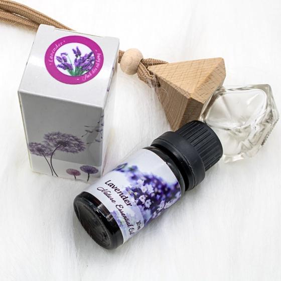 Combo 2 chai tinh dầu đàn hương và oải hương nhập khẩu - A combo of Sandalwood and Lavender Essential Oil