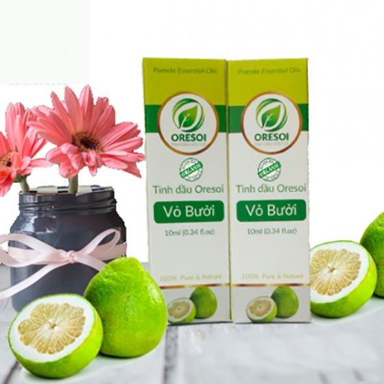 Combo 2 lọ tinh dầu vỏ bưởi hữu cơ Oresoi nguyên chất 10ml – Grapefruit Essential Oil