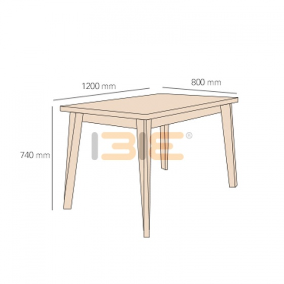 Bộ bàn ăn 4 ghế Emma - IBIE