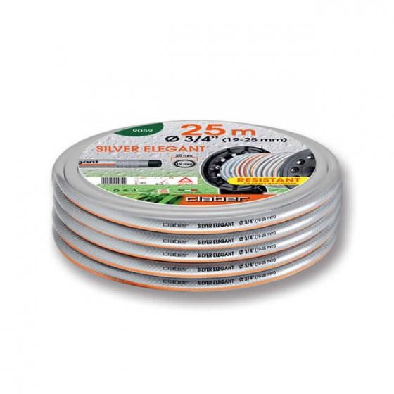 Cuộn ống nước bạc Claber 25m phi 19-25 mm