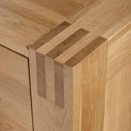 Tủ trữ đồ 3 cánh Alto gỗ sồi - IBIE