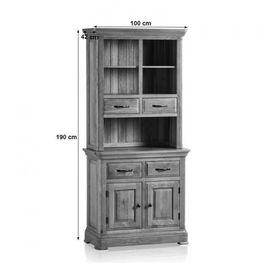 Tủ bếp 2 cánh Canterbury gỗ sồi - IBIE