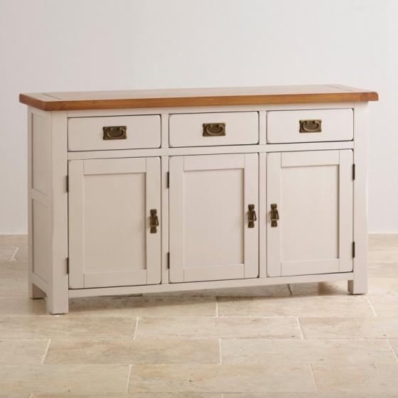 Tủ trữ đồ 3 cánh Kemble gỗ sồi - IBIE
