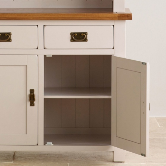Tủ bếp 2 cánh Kemble gỗ sồi - IBIE