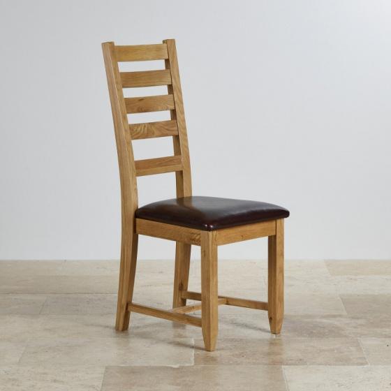 Ghế ăn Classic mặt nệm gỗ sồi