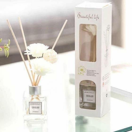 Tinh dầu khuếch tán hương thơm que hoa gỗ, thơm phòng khử mùi