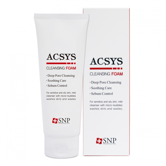 Sữa rửa mặt Acsys - SNP Acsys cleansing foam
