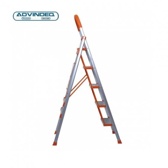 Thang nhôm ghế 5 bậc xếp gọn Advindeq ADS - 705
