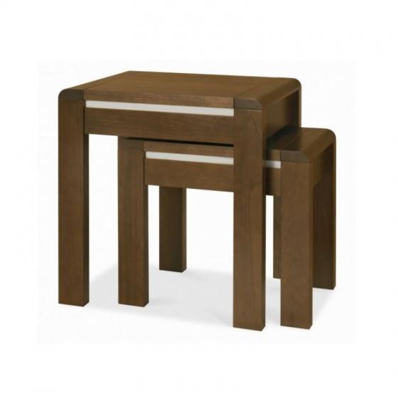 Bộ bàn xếp lồng Casa gỗ óc chó
