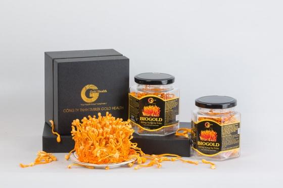 Đông trùng hạ thảo khô nguyên chất 5gr- Gold Health