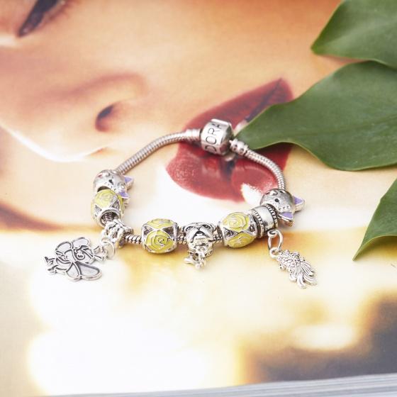 Opal - Vòng tay charm cao cấp tặng kèm dây chuyền bạc cao cấp 250.000đ_ T12