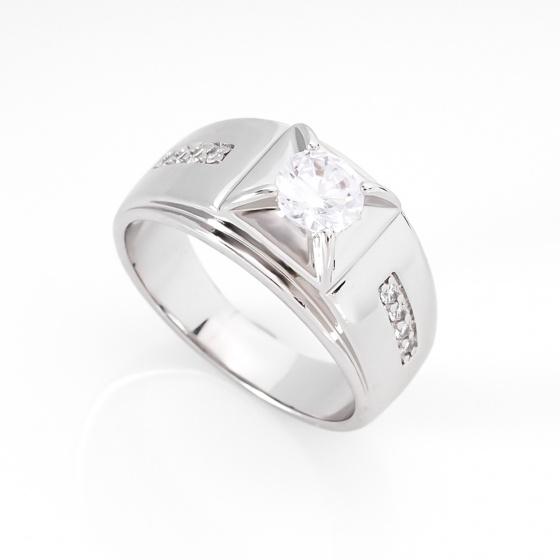 Nhẫn nam phong thủy đính đá màu - 64