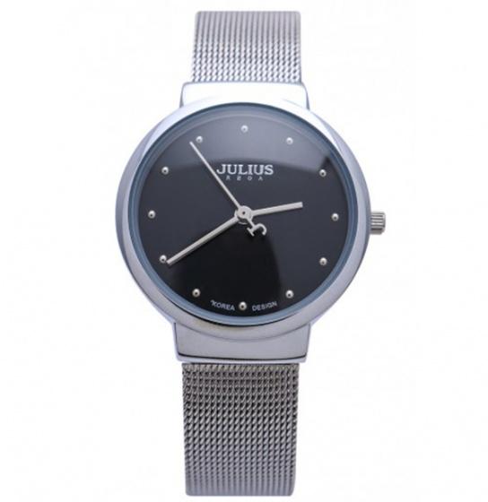 Đồng hồ nữ JA-426 Julius Hàn Quốc dây thép (5 màu)