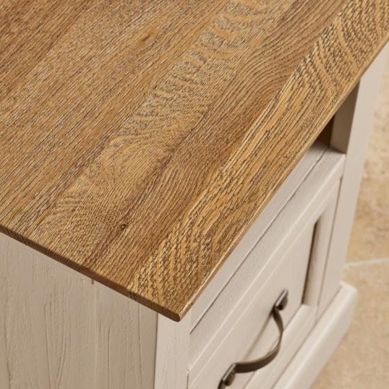 Tủ đầu giường 1 ngăn kéo Seychelles gỗ sồi - IBIE