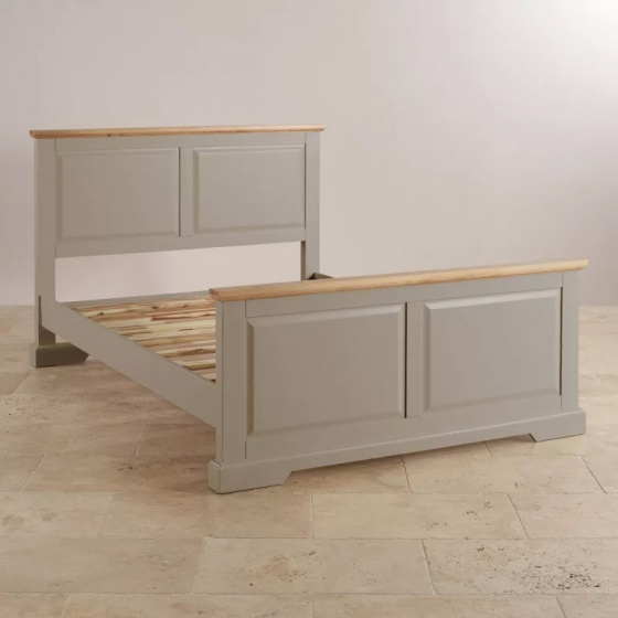 Giường đôi St.Ives gỗ sồi 1m6