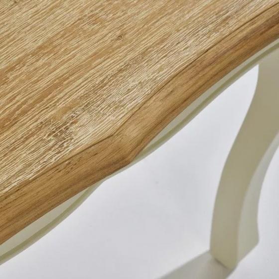 Bàn trang điểm 2 ngăn kéo Bella gỗ sồi
