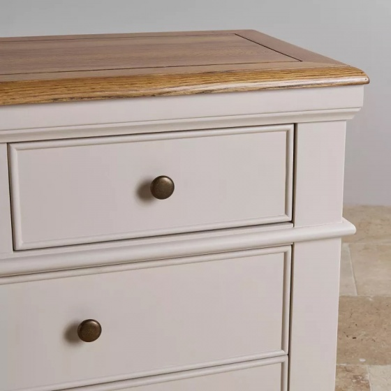 Tủ ngăn kéo 3+4 Shay gỗ sồi - IBIE