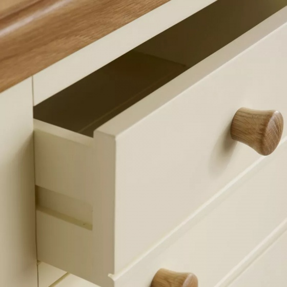 Tủ ngăn kéo 3+2 Country Cottage gỗ sồi - IBIE
