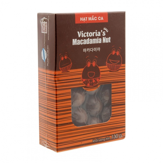 Hạt mắc ca nguyên vỏ Victoria's Macadamia Nut- vị tự nhiên