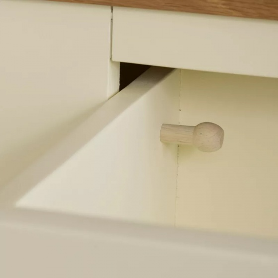 Tủ ngăn kéo 3+4 Country Cottage gỗ sồi - IBIE