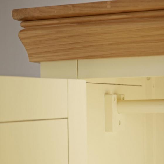 Tủ quần áo 2 cánh Country Cottage gỗ sồi 1m2