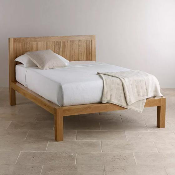Giường đôi Alto gỗ sồi 1m4