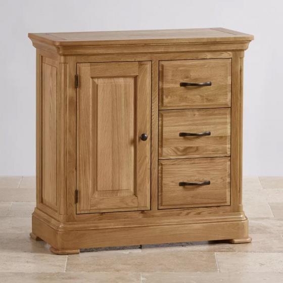 Tủ trữ đồ 3 ngăn Canterbury gỗ sồi - IBIE