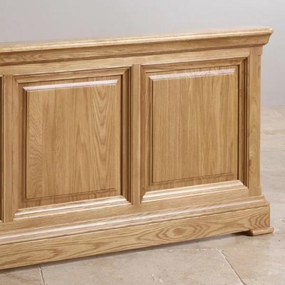 Giường đôi Canterbury gỗ sồi 1m4
