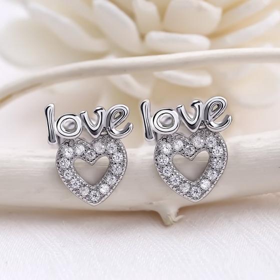 Bộ trang sức bạc Lizzie Love