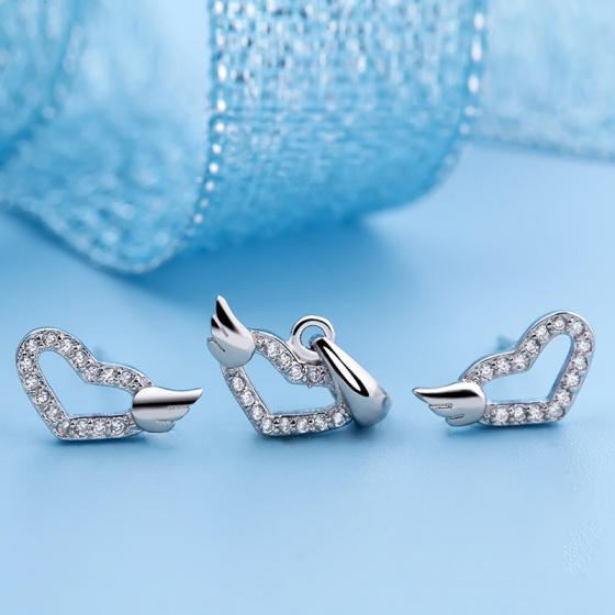 Bộ trang sức bạc Lulu Like