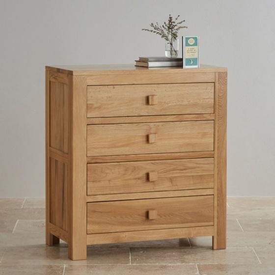 Tủ 4 ngăn kéo Oakdale gỗ sồi