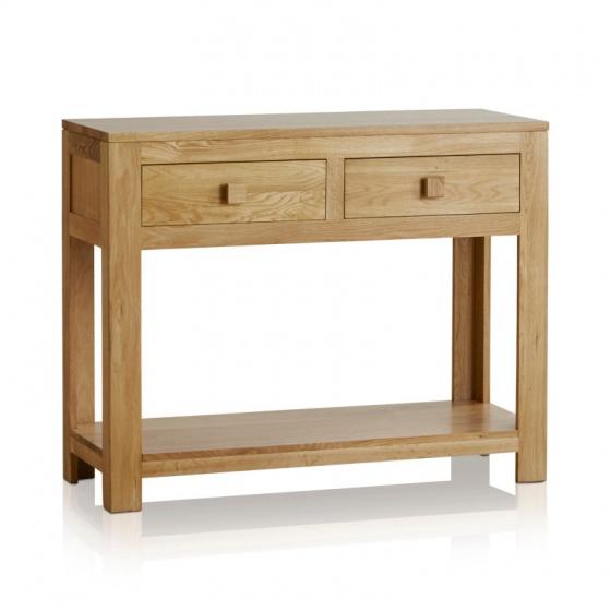 Bàn console Oakdale gỗ sồi