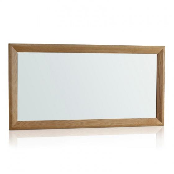 Gương treo tường Bevel gỗ sồi - IBIE